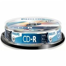 Płyta PHILIPS CD-R Cake 10