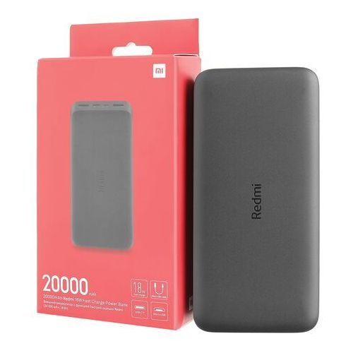 Xiaomi Redmi 18W Fast Charger Power Bank 20000 mAh (czarny)